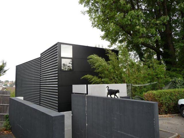 Apparence extérieure - Maison d'architecte verre et métal