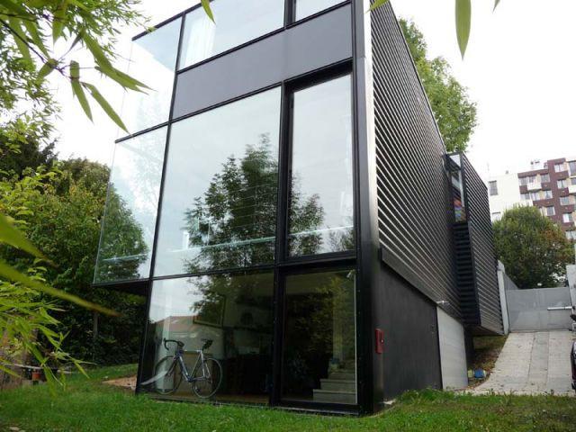 Forme - Maison d'architecte verre et métal