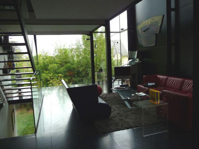 Transparence - Maison d'architecte verre et métal