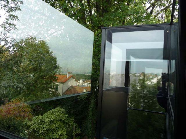 Orientation - Maison d'architecte verre et métal