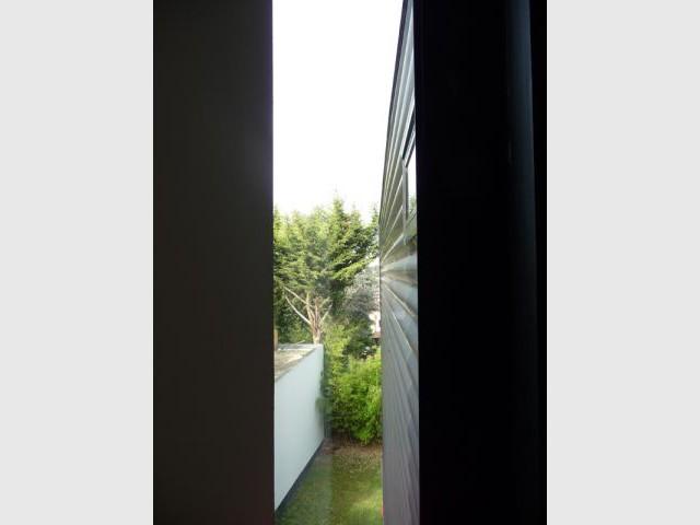 Paroi - Maison d'architecte verre et métal