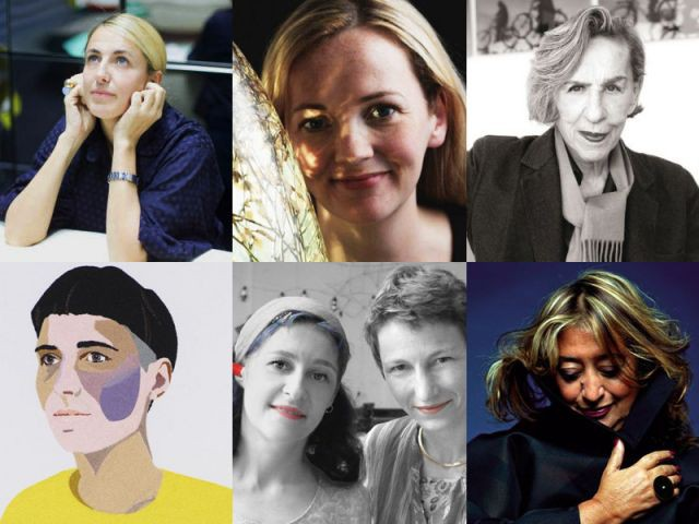 Montage femmes designers