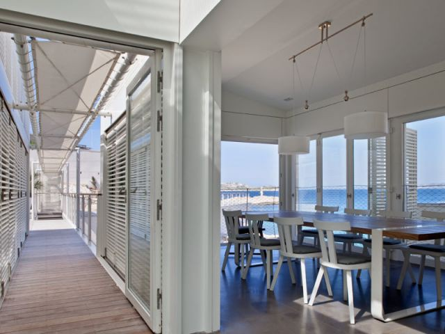 Salle à manger - Villa des bains de mer chauds