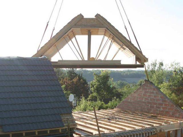 Ossature bois - Maison surélevée
