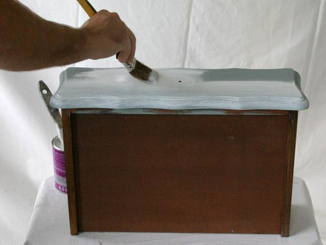 Peinture - meuble customisé