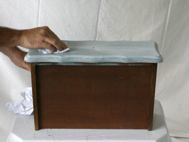 avant/après : customisation d'un meuble en chêne - Comment Relooker Un Meuble En Chene