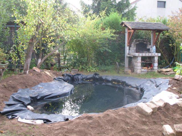 Remplissage - Bassin jardin