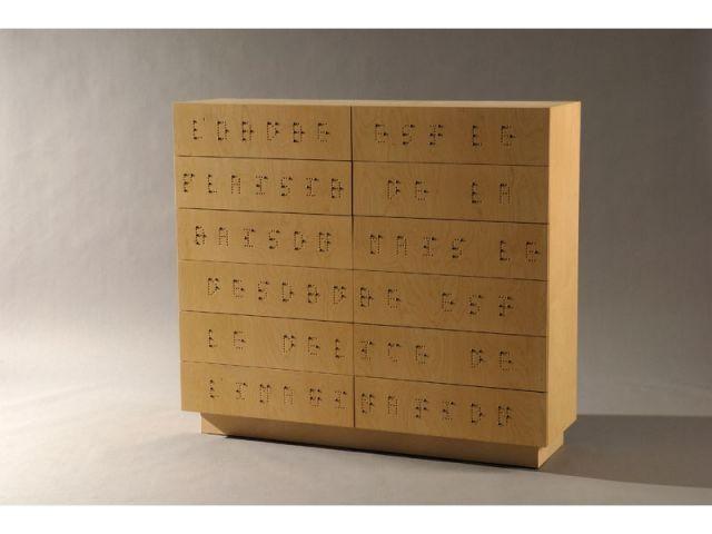 meuble de rangement ENSAD
