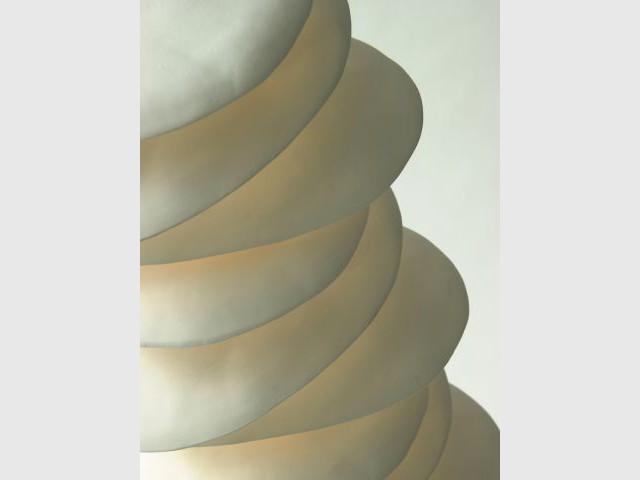 Colonne lumineuse - Isabelle Farahnick