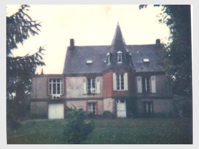 Avant : Vue d'ensemble - Maison de maître