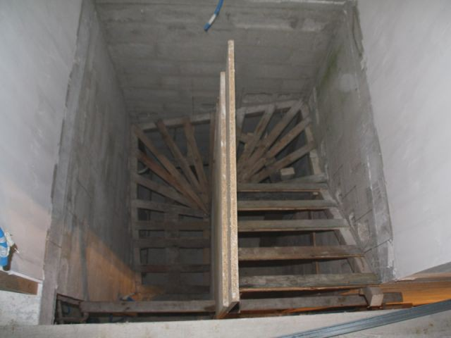 Construction d 39 un escalier b ton for Fabrication d un linteau en beton