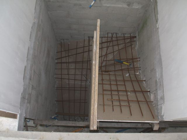 Armature - escalier béton
