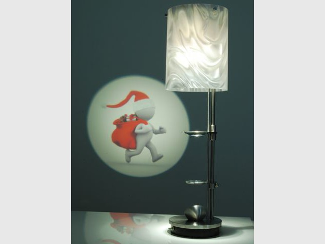 lampe de table projectrice