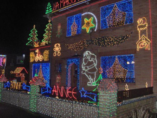 Maison illuminée - Illuminations  Noël