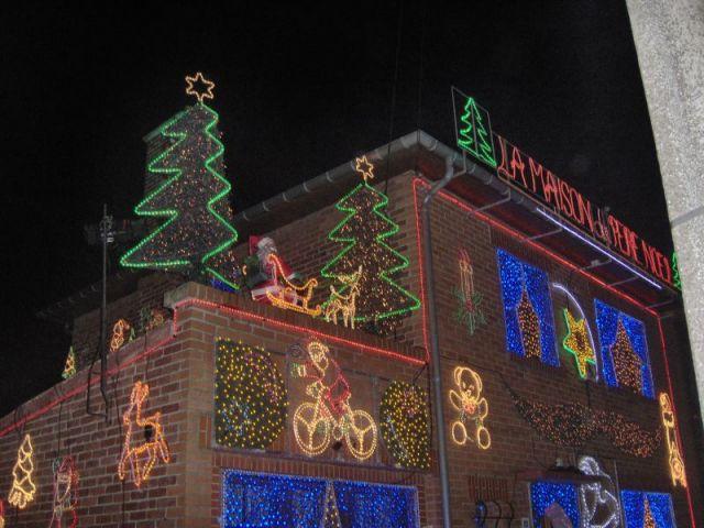 Maion illuminée - Illuminations Noël