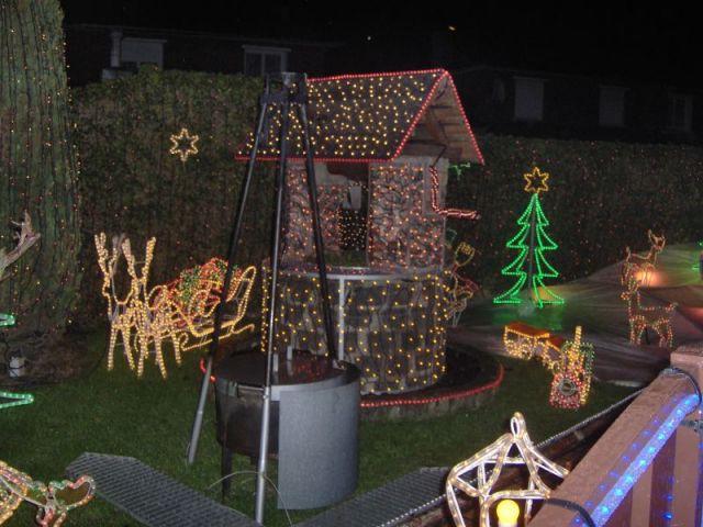 Maison illiminée - Illuminations Noël