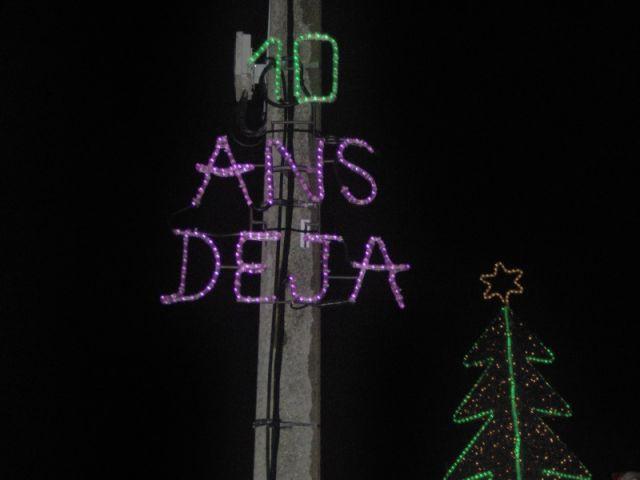 Anniversaire - Maison illuminée - Illuminations Noël