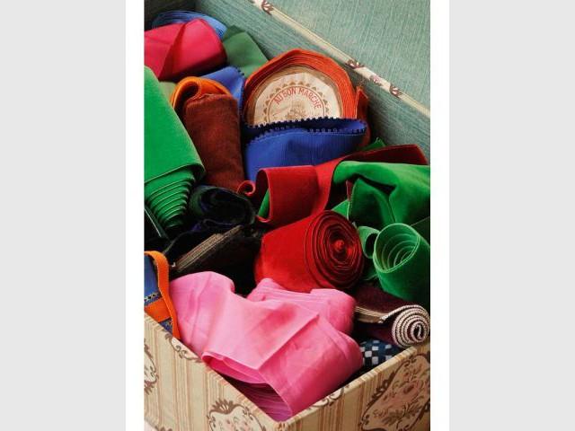 Galons et rubans - Dans les armoires de nos grands-mères
