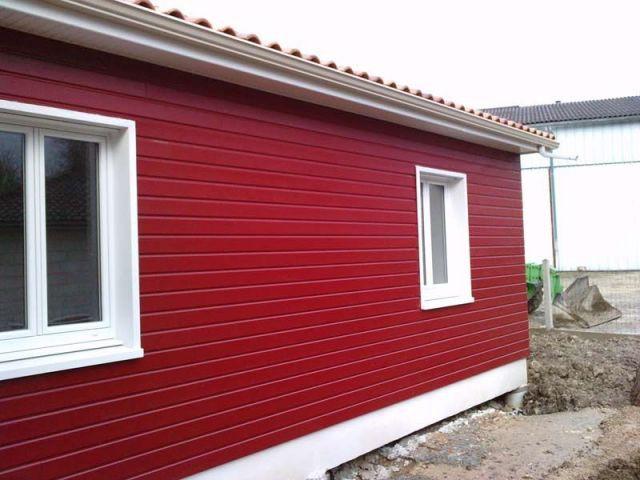 Bardage rouge - THPE