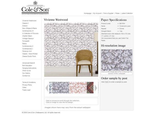 Cole&Son Vivienne Westwood