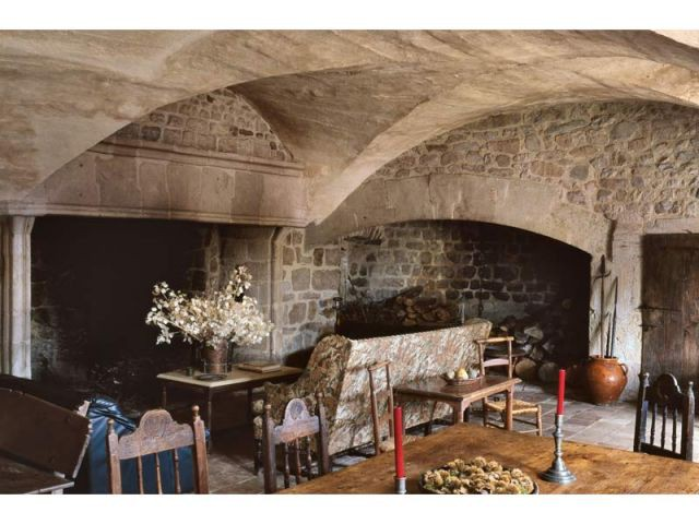 Maisonseule, intérieur - Yves Lecoq fou de châteaux