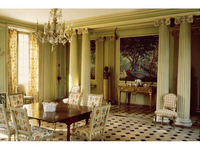 Villiers, salle à manger - Yves Lecoq fou de châteaux