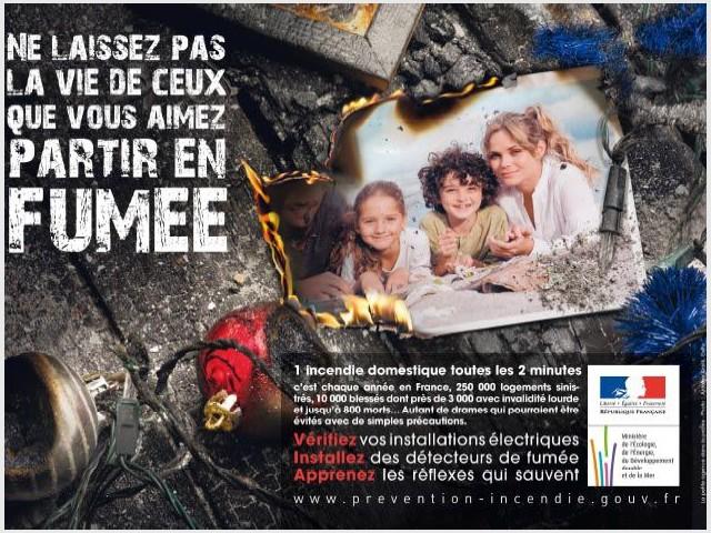 Campagne de prévention incendie 2009-2010