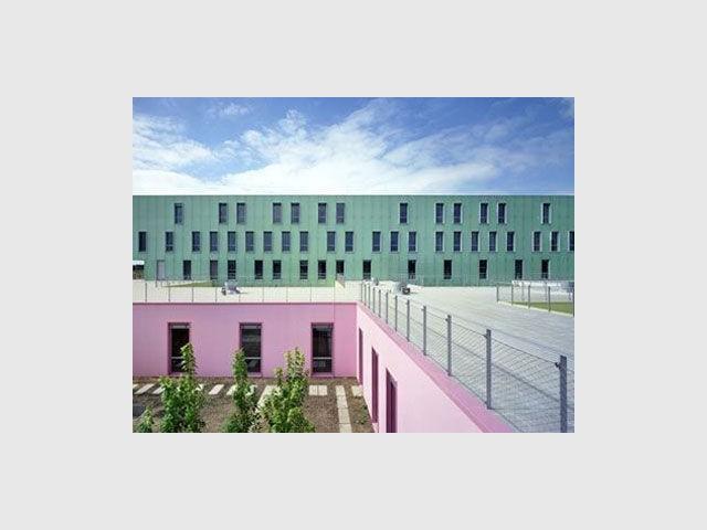 Un hôpital multicolore
