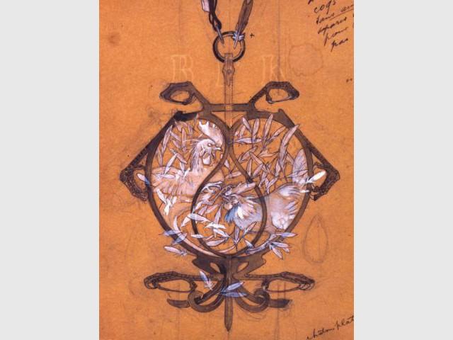 Lalique & le dessin - Lalique