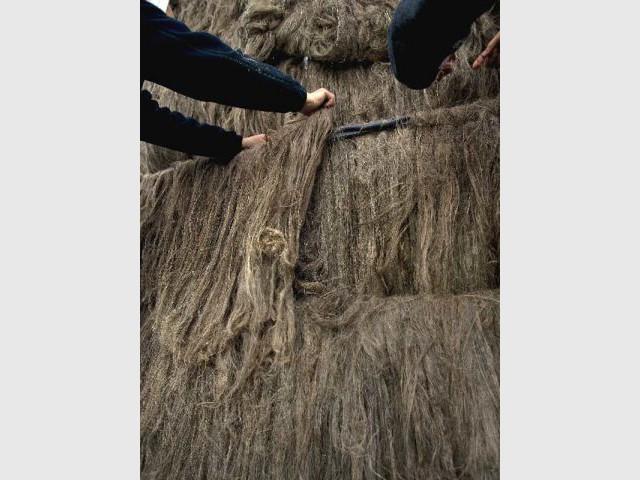 1 tonne de matériaux - habitat en lin