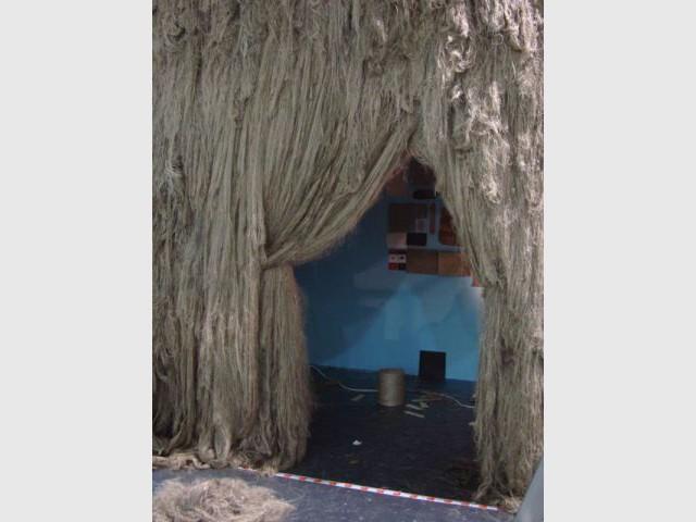 Lin peigné - habitat en lin