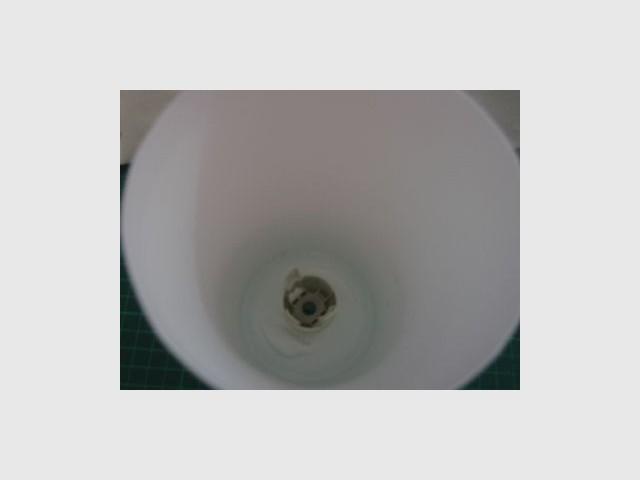 La douille - lampe bouteille