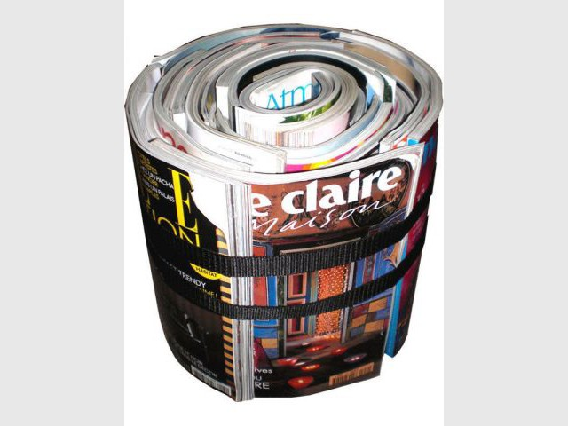 Magazines - Objets recyclés