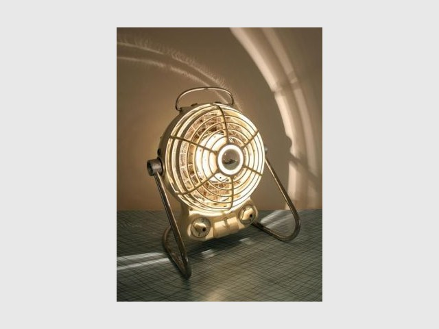 Ventilateur - Objets recyclés