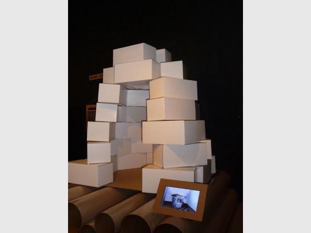 Work in progress - Dominique Perrault - carton