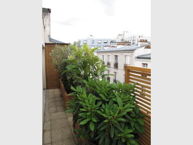Jardinières - Réalisation balcon - Les Terrasses d'Ile de France
