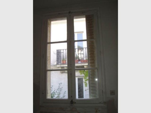 Fenêtre avant - appartement avant travaux