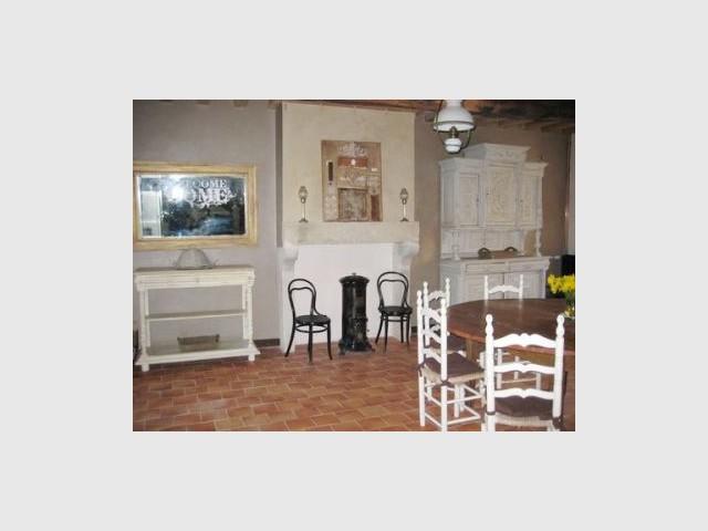Salle à manger 1/2 - Manoir restauré