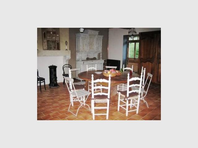 Salle à manger 2/2 - Manoir restauré