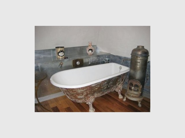 Salle de bain - Manoir Restauré