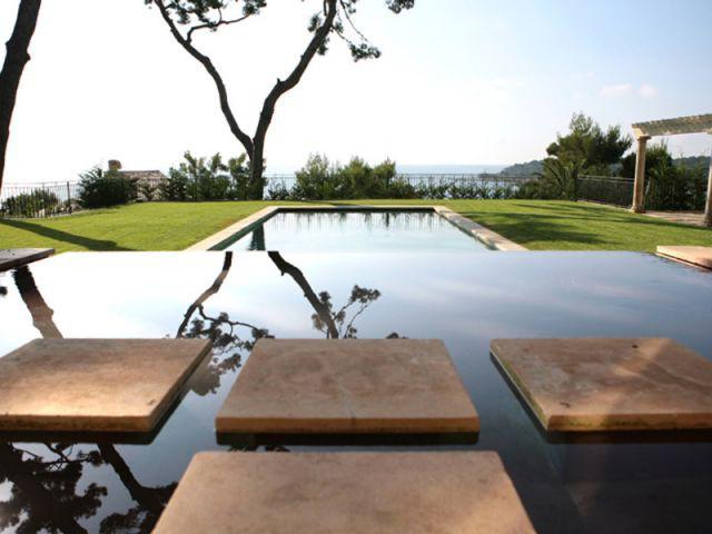 Jardin remanié - Villa Florentine