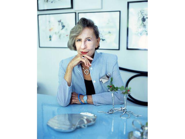 Andrée Putman portrait