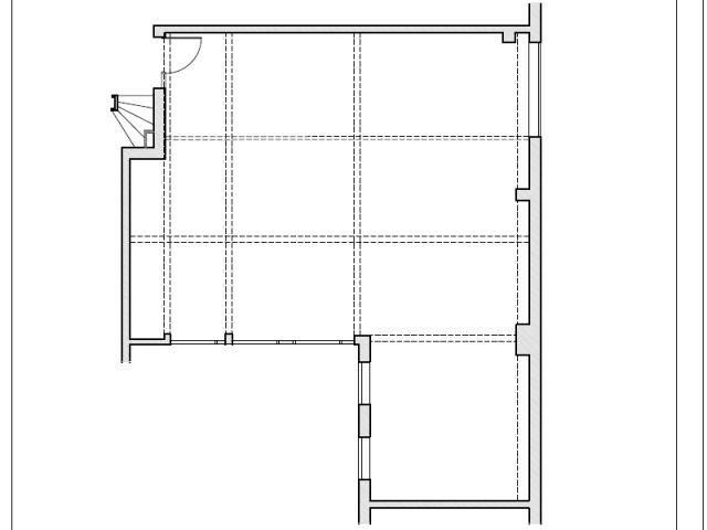 Plan avant travaux - Création loft