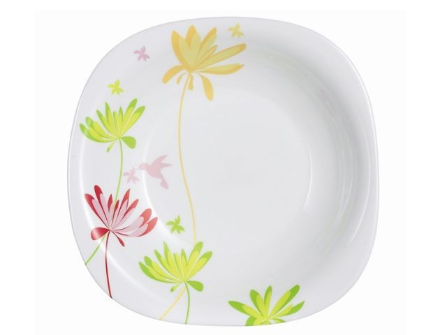 Notes de couleurs - assiette plate