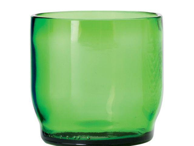 Vert bouteille - verre