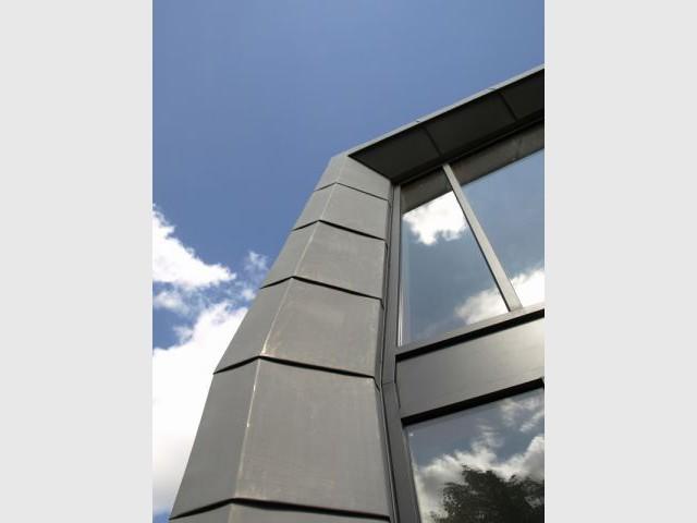 Détail façade - SLA Architecture