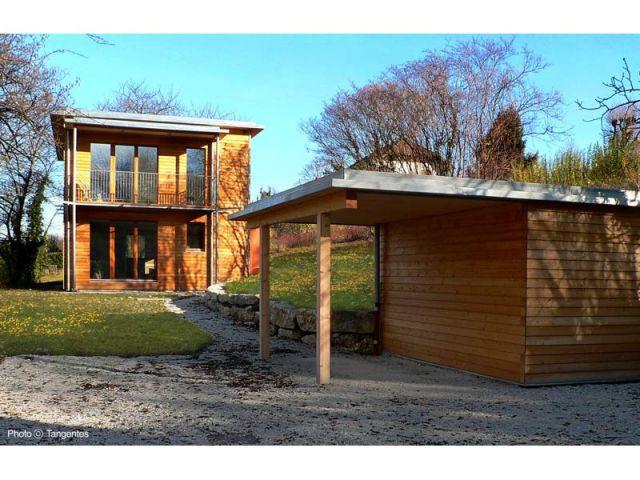 Première maison certifiée passive en Rhône-Alpes