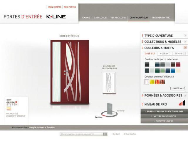 configurateur porte K.Line