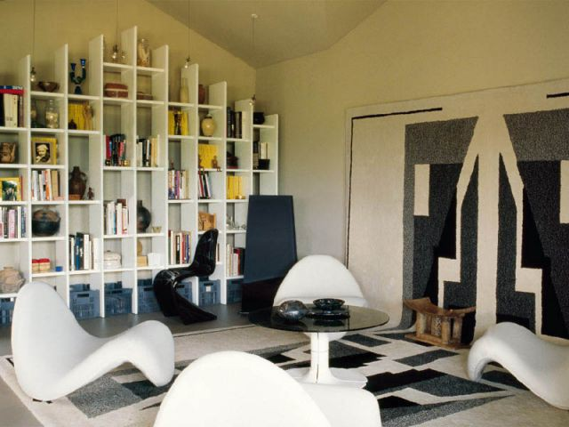 Le designer - bibliothèque