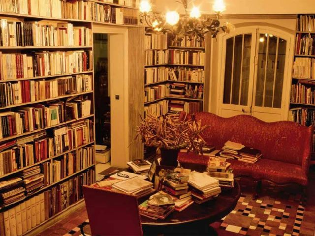 L'écrivain - bibliothèque